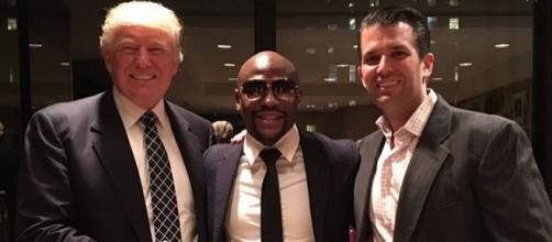 Donald Trump meets Floyd Mayweather as President-elect hosts ... - mirror.co.uk