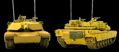 Graphics of Abrams tank courtesy Alles, pixabay.com, creative commons license