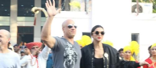 Vin Diesel arrives in India with Deepika Padukone for XXX: Return ... - ibtimes.co.in