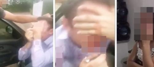 Vingança foi divulgada nas redes sociais.