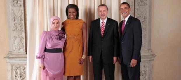 Barack Hussein und Recep Tayyip, zwei Muslimbrüder unter sich? (Foto: Lawrence Jackson / Executive Office of the President of the US / gemeinfrei)