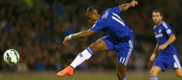 Com passagem marcante no Chelsea, Drogba não consegue ter uma boa temporada desde 2013 (Créditos: Goal.com - goal.com)