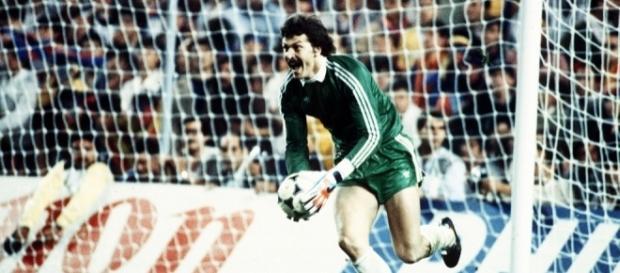 El día más feliz e histórico de Helmuth Duckadam del Steaua Bucarest