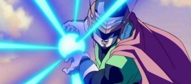 Gohan como Gran Saiyaman en el episodio 73