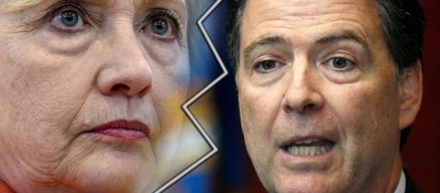 Hillary Clinton diz que perdeu por causa de James Comey