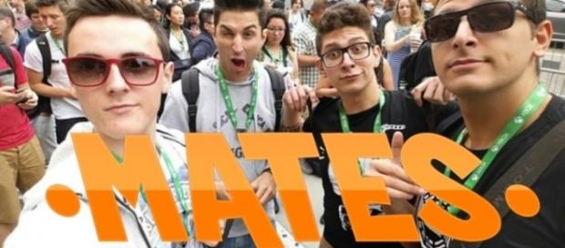 I Mates, I quattro ragazzi youtuber.