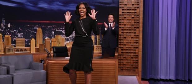 Michelle Obama ospite al Tonight Show - headlineplanet.com