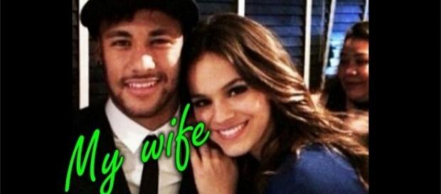 Neymar e Bruna Marquezine já não escondem o namoro de ninguém