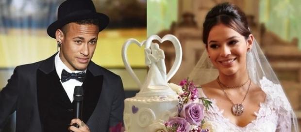 Neymay já chama Bruna Marquezine de esposa