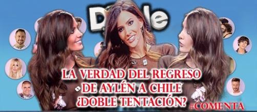 El regreso de Aylén a Chile ¿Doble Tentación?