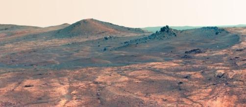 Incredibili analogie tra le rocce marziane e terrestri, ma di alieni non se ne vedono. Foto: Agi