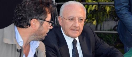 presidente della Regione Campania Vincenzo De Luca