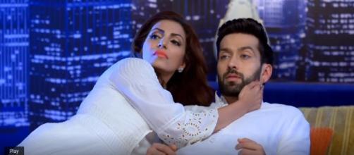 Tia and Shivaay in Ishqbaaz (Youtube screen grab)