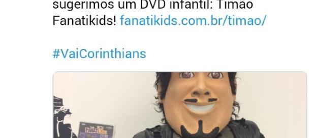 Corinthians provoca Internacional com DVD