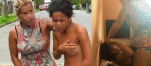 Mulher bate em amante do marido nas ruas - Google