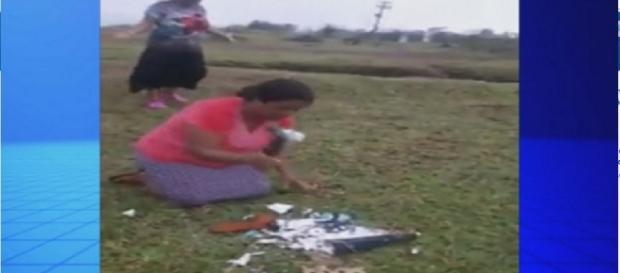 Pastora que quebrou santa - Imagem/Google