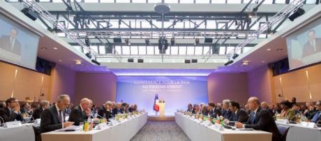 Conférence pour la paix au proche orient - Paris - CC BY