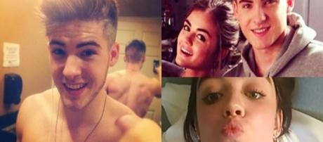 Nudes de Lucy Hale e Cody Chistian caem na web