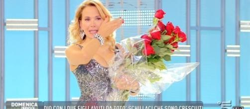 Barbara D'Urso furiosa in diretta tv