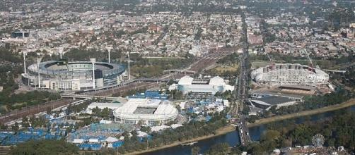 Melbourne Park (Credit: Annieb - wikimedia.org)