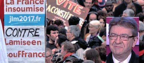 Photo Patrice Gravoin et DR : Jean-Luc Mélenchon ou Dr. Méluche et Mr. Moi-moi-je contre le reste du monde.