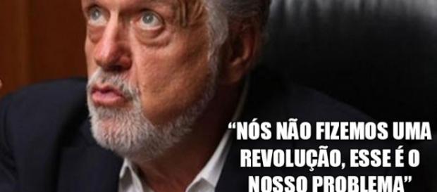 """""""Nós não fizemos uma revolução, esse é o nosso problema"""", disse o ex-ministro de Dilma"""