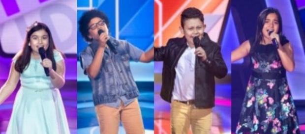 Os quatro gauchinhos que se apresentaram no 'The Voice Kids' encantaram a todos
