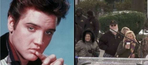 Teoria diz que o homem grisalho seria o cantor Elvis Presley vivo aos 82 anos