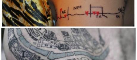 Tatuagens que chamam a atenção