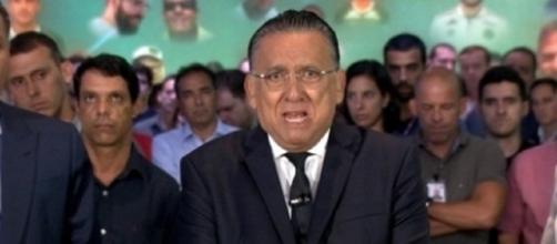 Apresentador Galvão Bueno, estaria atravessando problemas financeiros com seus negócios