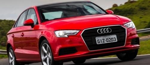Audi A3 Sedan 2017 traz mudanças na grade, farol a para-choque