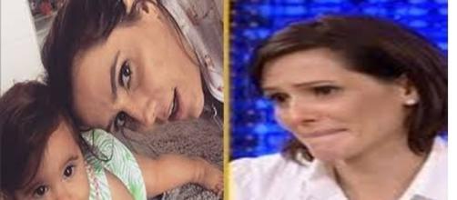Débora Secco e filha são ameaçadas na internet