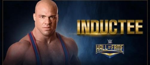 Kurt Angle is back and he's headlining the 2017 Hall of Fame class. - WWE