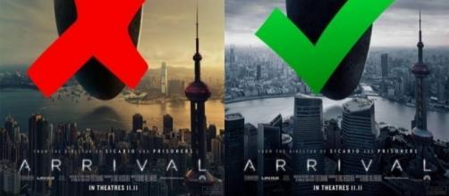La locandina che fa scandalo ad Hong Kong.