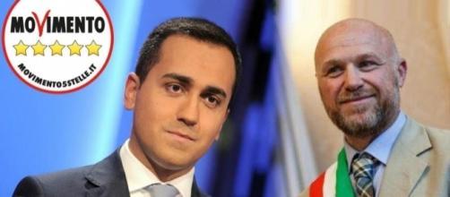 Luigi Di Maio e il sindaco di Livorno, Filippo Nogarin