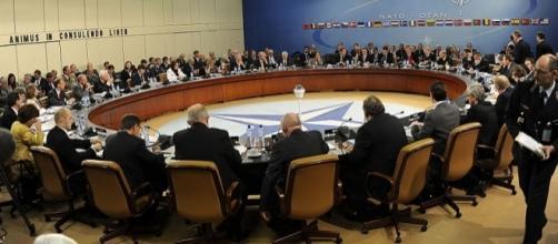 NATO, photo by U.S. government agency in public domain