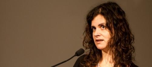 Salomé Pinto no 4º Congresso dos Jornalistas Portugueses (foto de RITA OCHOA/ESCS)
