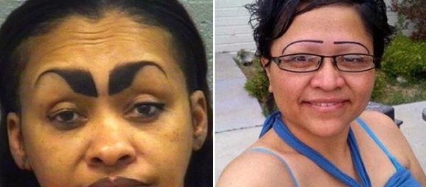 Cuidado! nem sempre o modelo de sua sobrancelha é o mais adequado para seu rosto