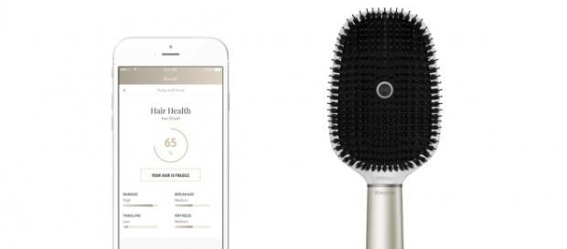 Em instantes, escova relata dados preciosos sobre os cabelos