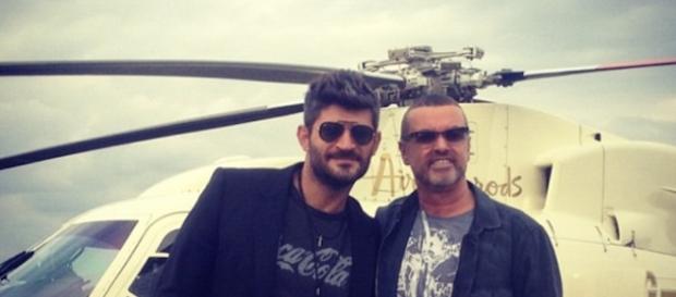 George Michael e Fadi Fawaz: foto dal profilo Instagram di Fadi.