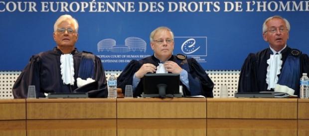 Foto della corte Europea dei diritti dell'uomo di Strasburgo