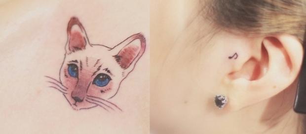 Uma simples tatuagem pode mudar totalmente seu visual