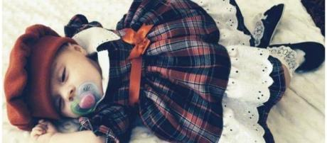Bebê Caragh Walsh encontrada morta