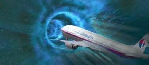 Há quem acredite que o avião entrou num portal para outra dimensão (Ilustração/Banco de Imagens Google)