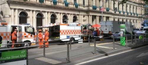 Nei pressi della Bourke St Mall un uomo ha investito i pedoni e diffuso il panico