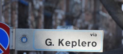 Via Keplero, nella cittadina di Colognola.