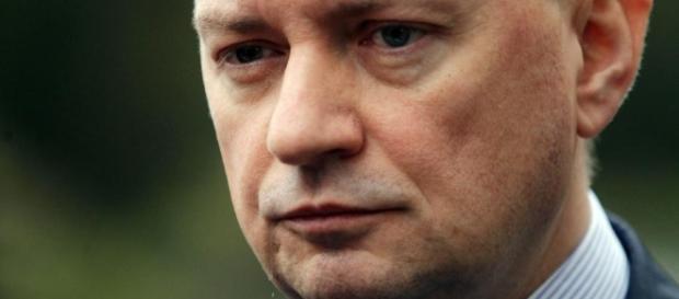 Minister Błaszczak ściga protestujących (foto:dziennik.pl)