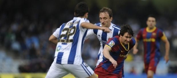 O Barcelona visita a Real Sociedad, onde não tem sido feliz nos últimos anos.