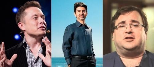 Elon Musk, Reid Hoffman e Pierre Omidyar estudam meios seguros no uso de inteligência artificial. (Foto: Foto: TED / Divulgação / Reprodução)