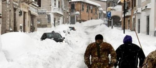 Soccorsi difficili per il terremoto in centro Italia